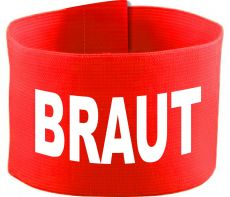 adjustable Velcro armband with BRAUT / 10 cm height
