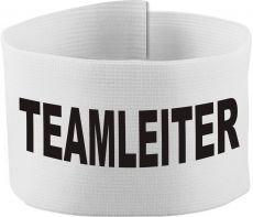 größenverstellbare Klett-Armbinde mit TEAMLEITER / 10 cm Höhe