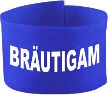 adjustable Velcro armband with BRÄUTIGAM / 10 cm height