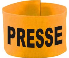 adjustable Velcro armband with PRESSE / 10 cm height