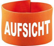 adjustable Velcro armband with AUFSICHT / 10 cm height