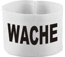 rubber elastic armband / mediaband with WACHE / 10 cm height