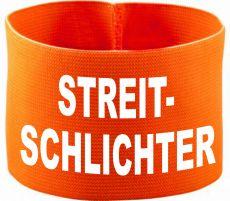 rubber elastic armband / mediaband with STREITSCHLICHTER / 10 cm height