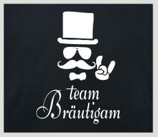 Shirt Team Bräutigam mit Figur