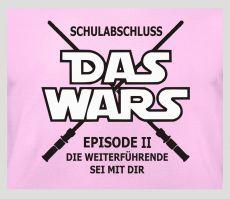 Shirt Schulabschluss - das wars