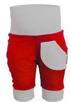 3/4 - lange Kinder Pumphose / multicolor / 1 kleine Tasche