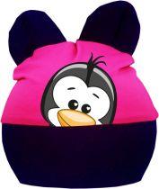 Baby Ohren Mütze Multicolor Sweet Animal Pinguin