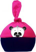 1-Zipfel Baby Mütze Multicolor Sweet Animals PANDA