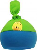 1-Zipfel Baby Mütze Multicolor Sweet Animals GÄNSEKÜCKEN