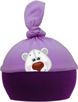 1-Zipfel Baby Mütze Multicolor Sweet Animals EISBÄR