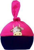 1-Zipfel Baby Mütze Multicolor Sweet Animals KUH