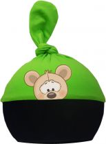 1-Zipfel Baby Mütze Multicolor Sweet Animals MAUS