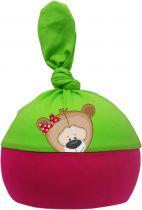 1-Zipfel Baby Mütze Multicolor Sweet Animals TEDDY