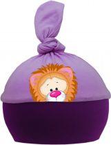 1-Zipfel Baby Mütze Multicolor Sweet Animals LÖWE
