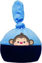 1-Zipfel Baby Mütze Multicolor Sweet Animals AFFE