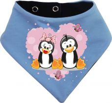 Winter Kinder / Erwachsenen Snood gestreift