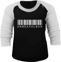 Baby und Kinder Baseball Langarm Shirt - Unbezahlbar