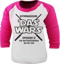 Baby und Kinder Baseball Langarm Shirt - Das war´s ... Gymnasium