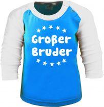 Baby und Kinder Baseball Langarm Shirt - Großer Bruder