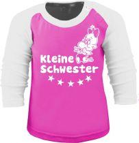 Baby und Kinder Baseball Langarm Shirt - Kleine Schwester