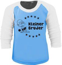 Baby und Kinder Baseball Langarm Shirt - Kleiner Bruder