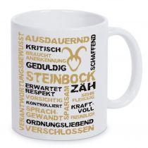 Keramiktasse LENA mit Sternzeichen Steinbock