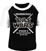 Baby / Kinder Kurzarm Raglan Baseball T-Shirt -  Grundschule -