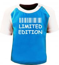 Baby / Kinder Kurzarm Raglan Baseball T-Shirt -  Limited Edition -