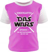 Baby und Kinder Shirt kurzarm Multicolor KINDERGARTEN