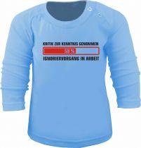 Baby und Kinder Langarm T-Shirt Ignoriervorgang eingeleitet
