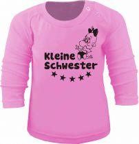 Baby und Kinder Langarm T-Shirt Kleine Schwester