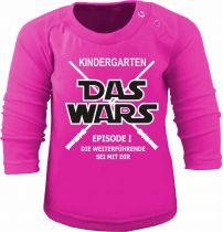 Baby und Kinder Langarm T-Shirt Kindergarten