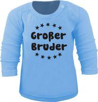 Baby und Kinder Langarm T-Shirt Großer Bruder