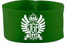 rubber elastic armband / mediaband with JGA Team / 10 cm height