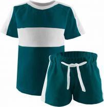 Kinder Kurzarm Trikot Set T-Shirt und Hose
