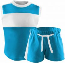 Kinder Achsel Trikot Set T-Shirt und Hose Fashion