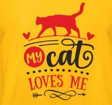 Shirt My Cat loves me