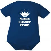 farbiger Baby Body Mamas kleiner Prinz / COOK