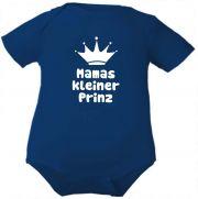farbiger Baby Body 1/4-Arm Mamas kleiner Prinz / COOK