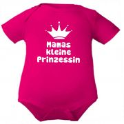 farbiger Baby Body Mamas kleine Prinzessin / COOK
