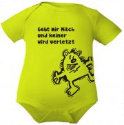 farbiger Baby Body 1/1 Wunschkind (Elefant)