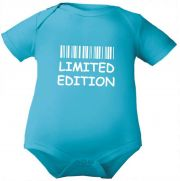 farbiger Baby Body Limited Edition