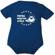 farbiger Baby Body Papas Meisterstueck /COOK