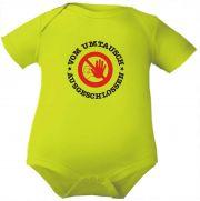 farbiger Baby Body Vom Umtausch ausgeschlossen / NEU