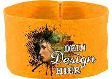 rubber elastic armband / mediaband / 10 cm height