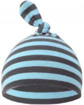 1-Zipfel Baby Mütze beidseitig gestreift