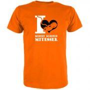 T-Shirt für Schwangere I love meinen kleinen Mitesser