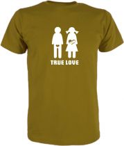 T-Shirt für Schwangere True Love