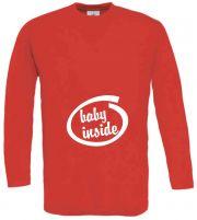 Langarm T-Shirt für Schwangere Baby Inside