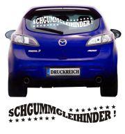 Auto Aufkleber Ischgummgleihinder